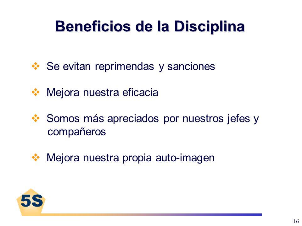 Beneficios de la Disciplina