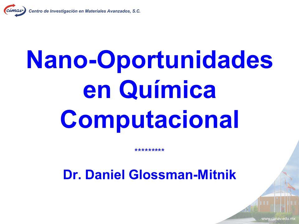 Nano-Oportunidades en Química Computacional