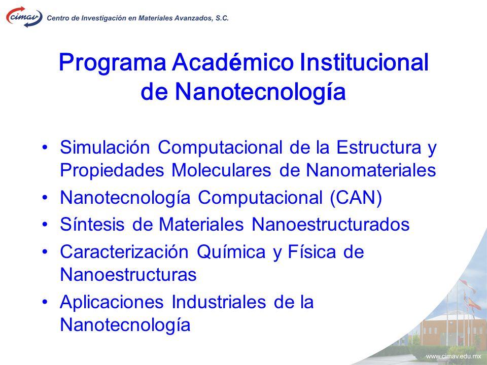 Programa Académico Institucional de Nanotecnología