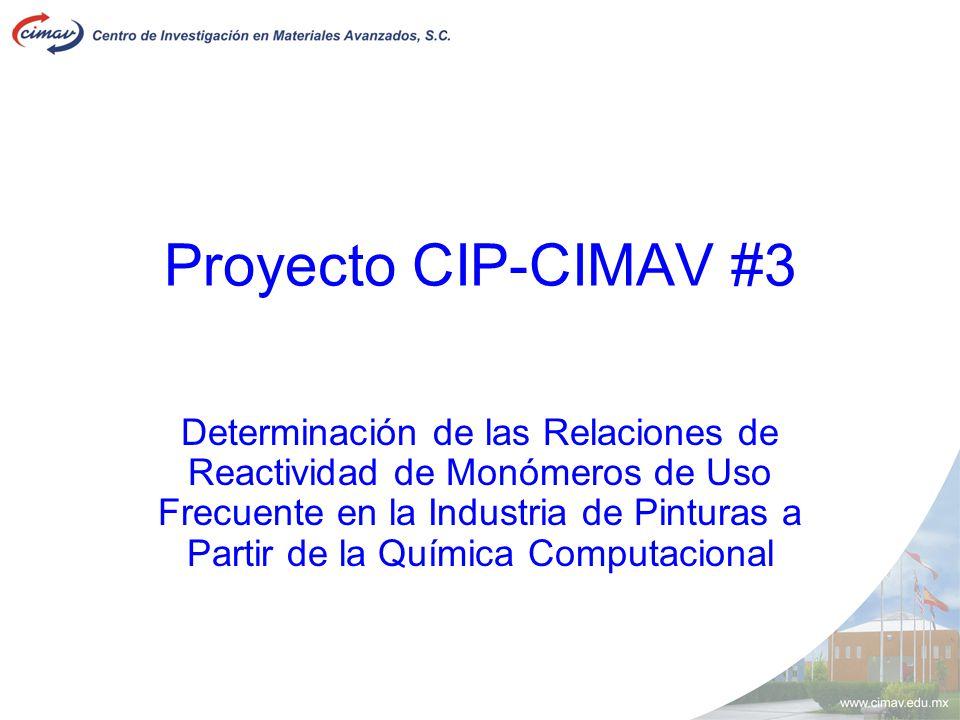 Proyecto CIP-CIMAV #3