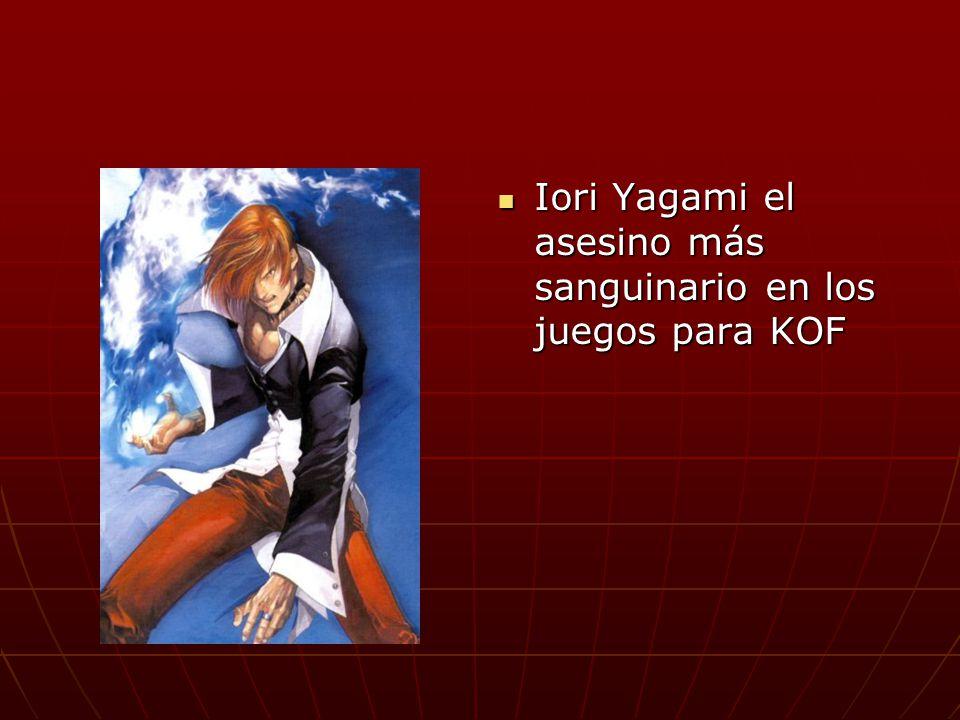 Iori Yagami el asesino más sanguinario en los juegos para KOF