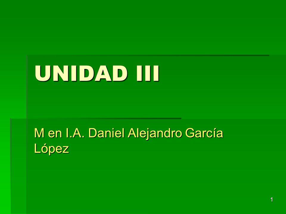 M en I.A. Daniel Alejandro García López