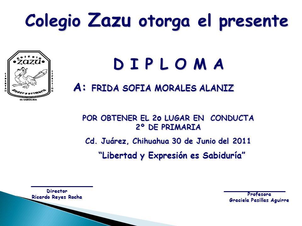 Colegio Zazu otorga el presente
