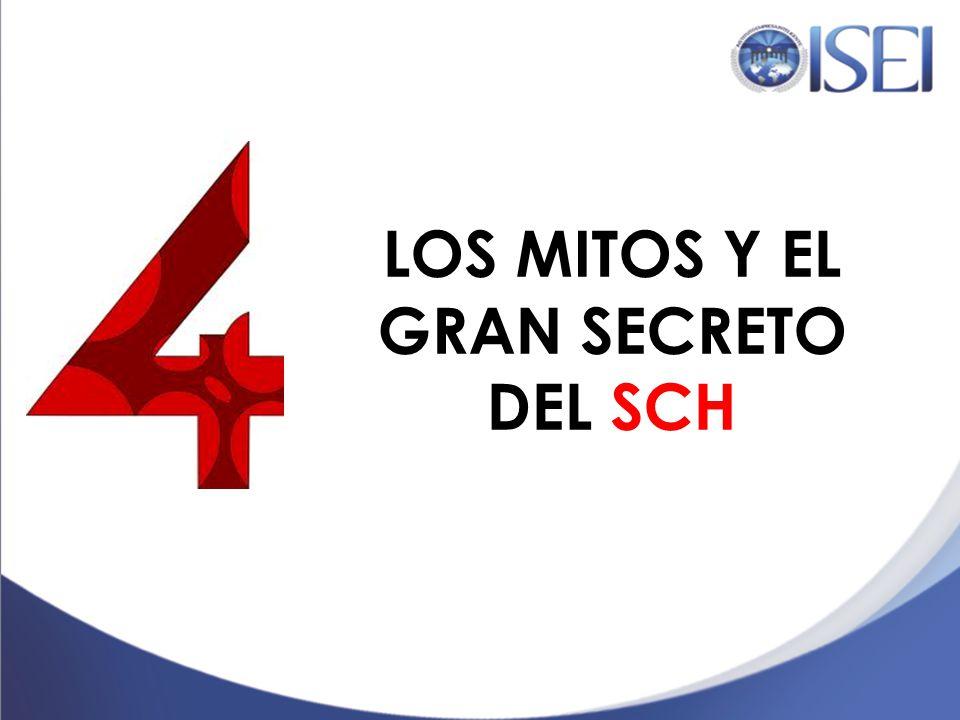 LOS MITOS Y EL GRAN SECRETO DEL SCH