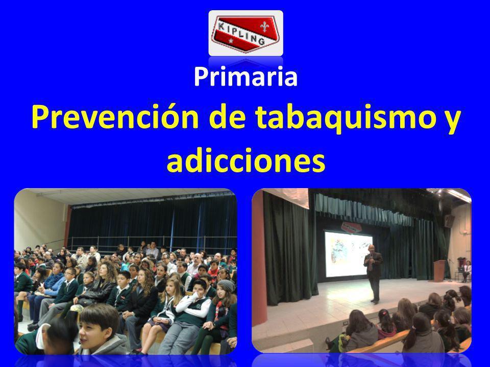 Prevención de tabaquismo y adicciones