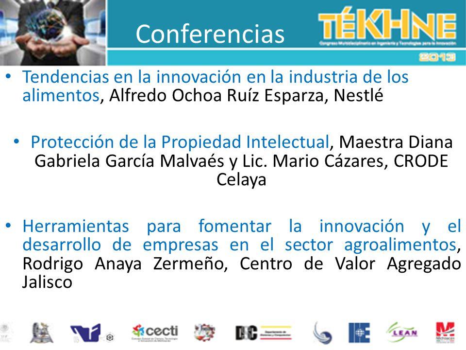 Conferencias Tendencias en la innovación en la industria de los alimentos, Alfredo Ochoa Ruíz Esparza, Nestlé.