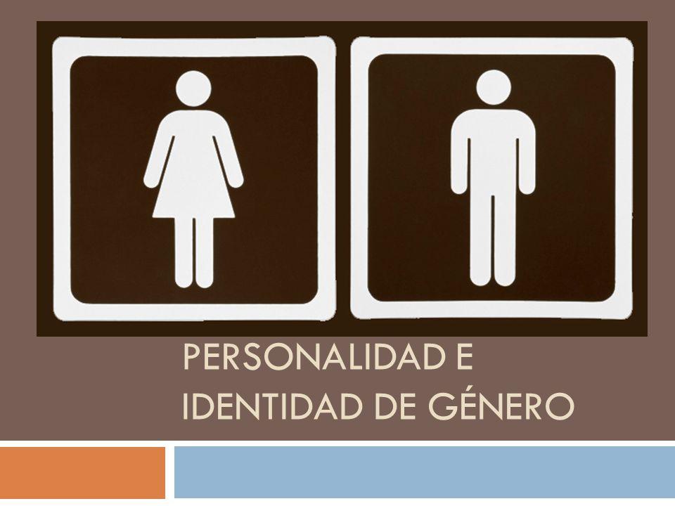 Personalidad e identidad de género