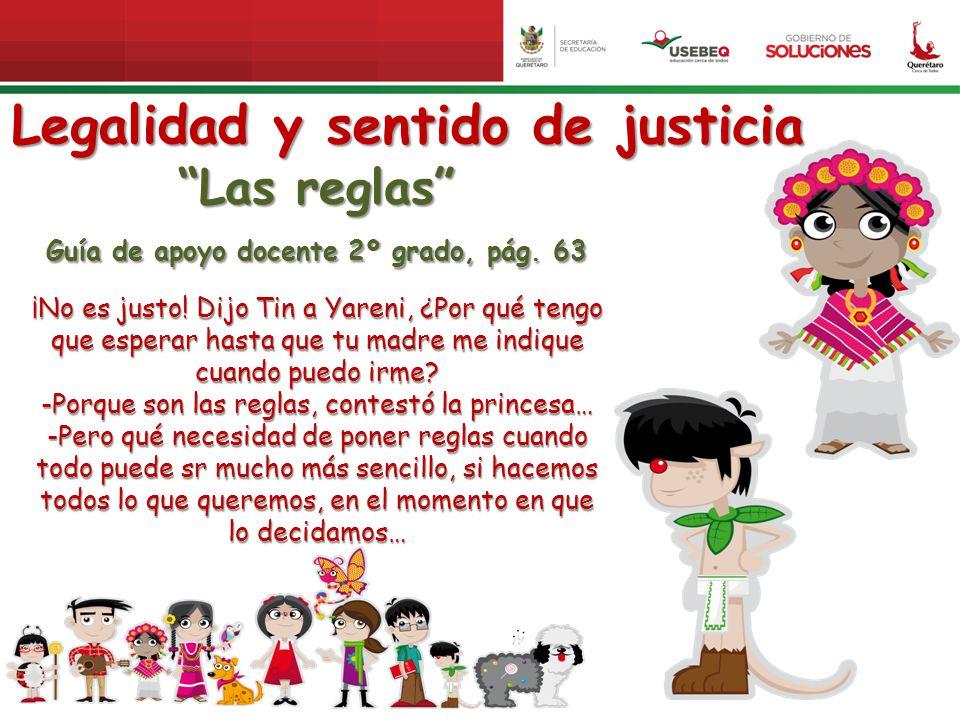 Legalidad y sentido de justicia