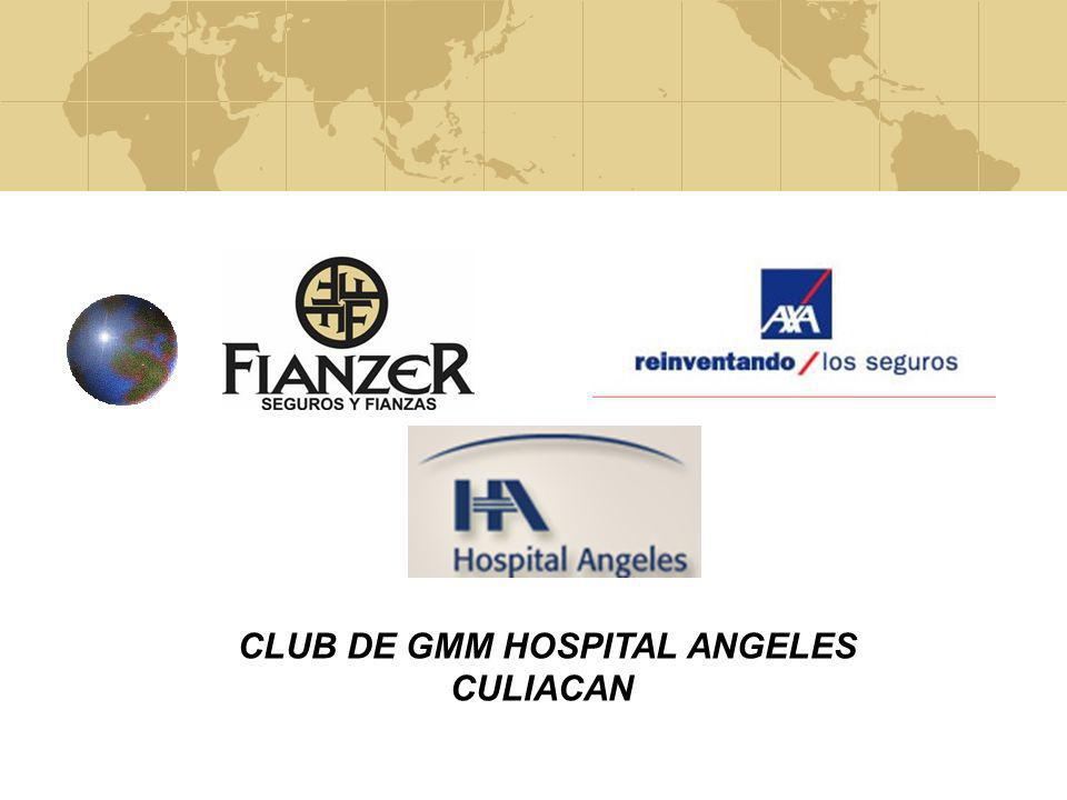 CLUB DE GMM HOSPITAL ANGELES CULIACAN