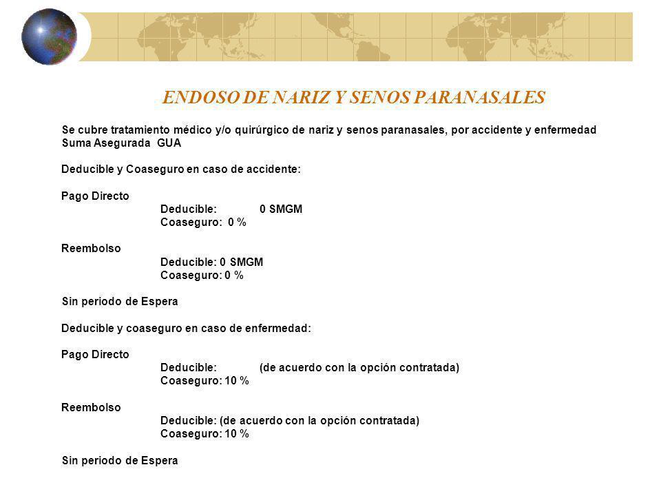ENDOSO DE NARIZ Y SENOS PARANASALES
