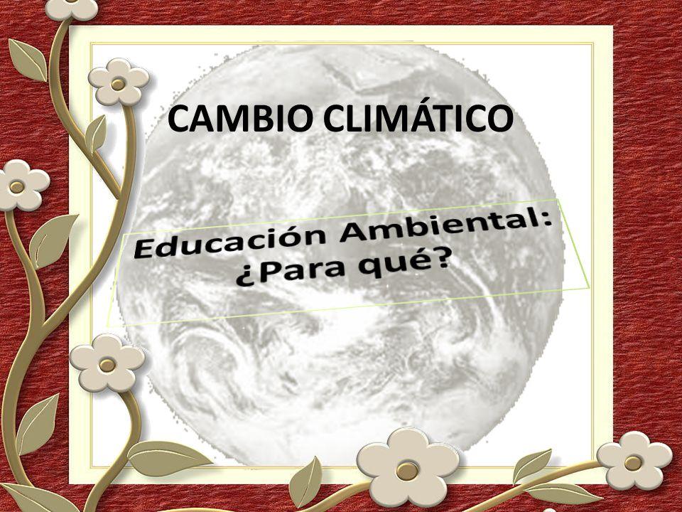 Educación Ambiental: ¿Para qué
