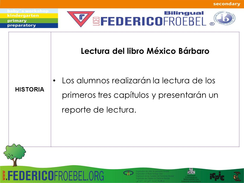 Lectura del libro México Bárbaro