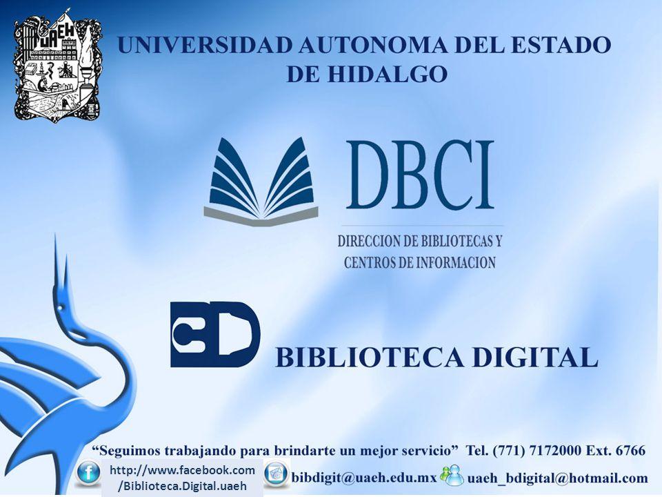 http://www.facebook.com/Biblioteca.Digital.uaeh
