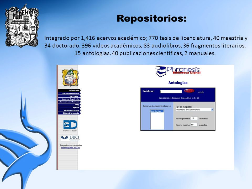 Repositorios: