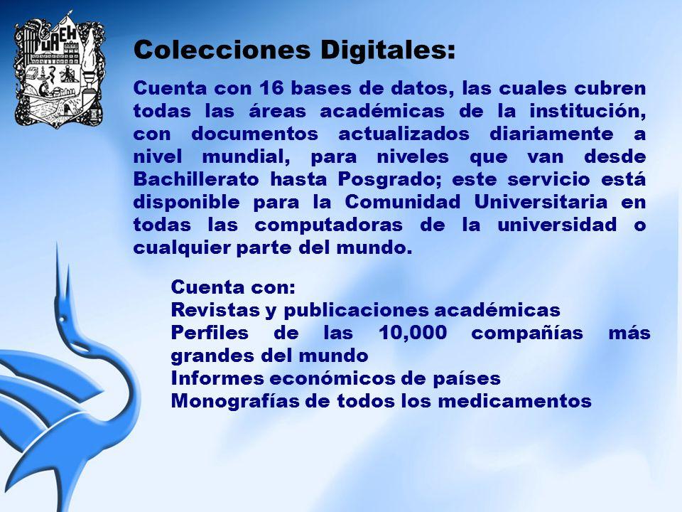 Colecciones Digitales: