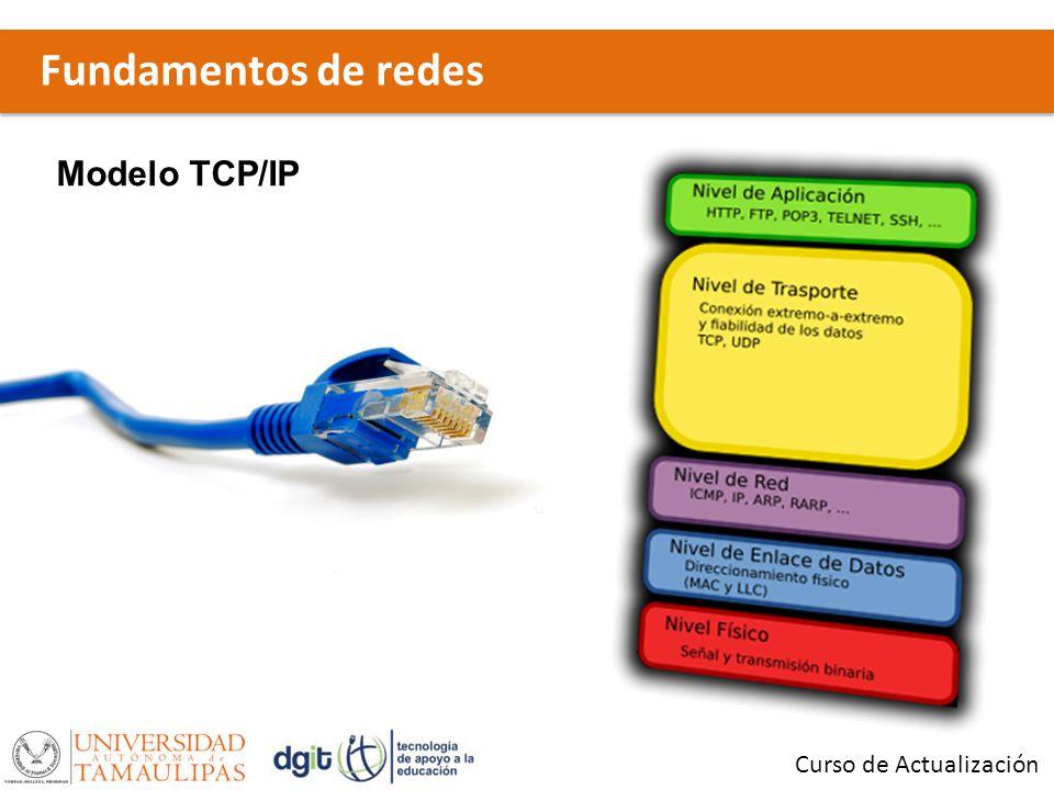 Fundamentos de redes Modelo TCP/IP Curso de Actualización