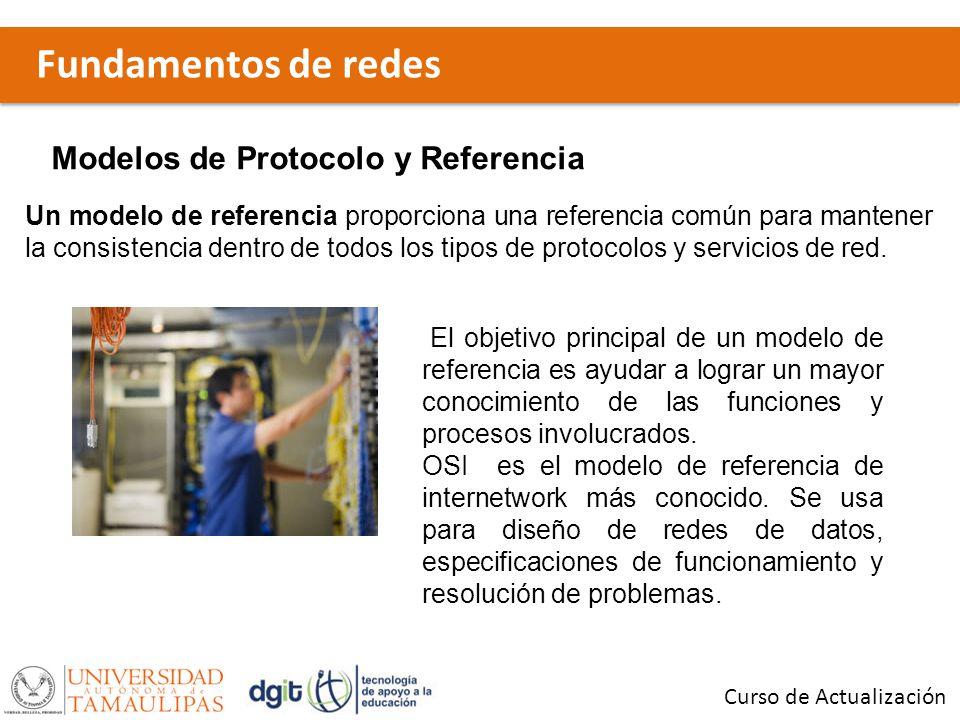 Fundamentos de redes Modelos de Protocolo y Referencia