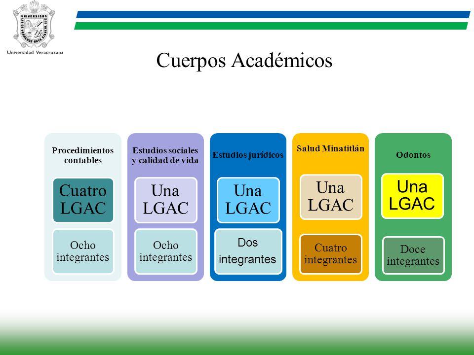 Procedimientos contables Estudios sociales y calidad de vida