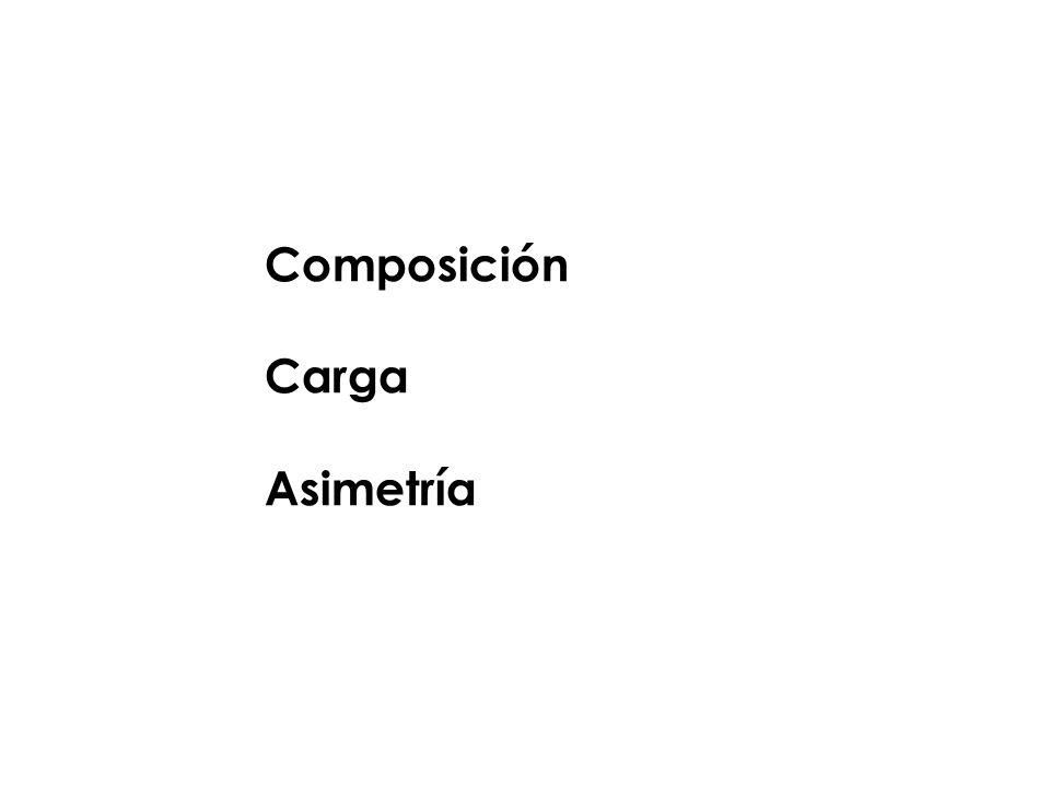 Composición Carga Asimetría