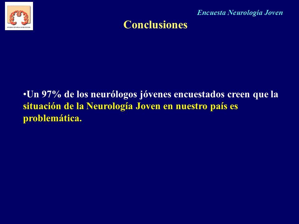 Encuesta Neurología Joven