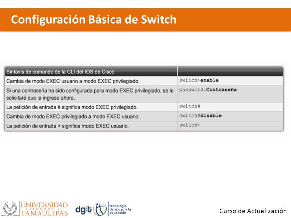 Configuración Básica de Switch