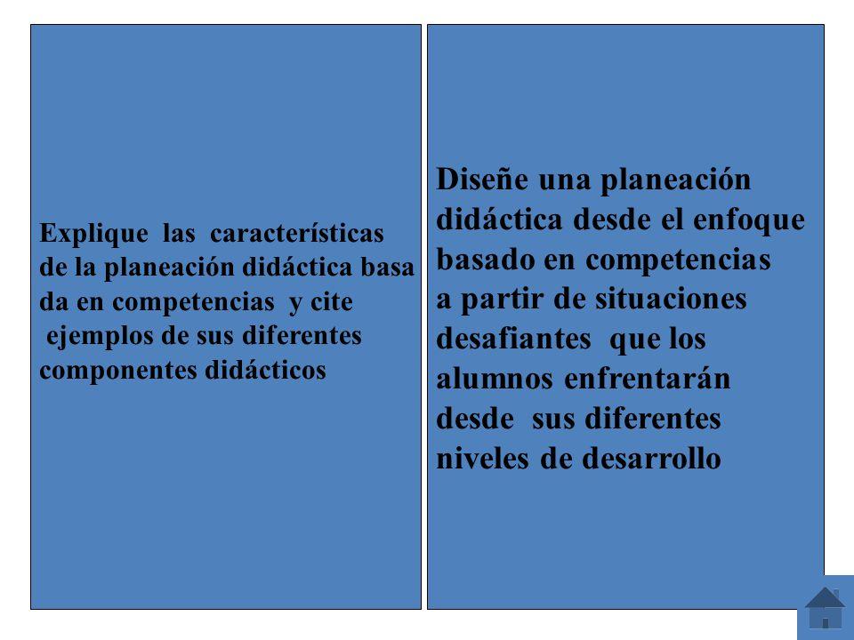 didáctica desde el enfoque basado en competencias
