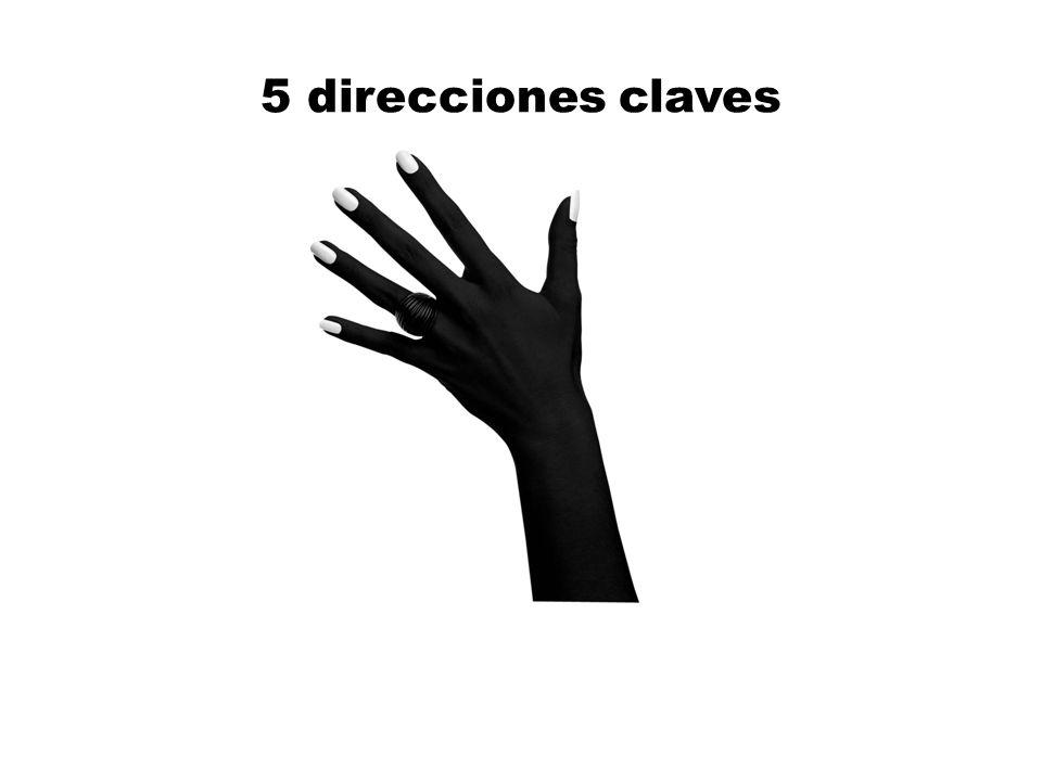 5 direcciones claves