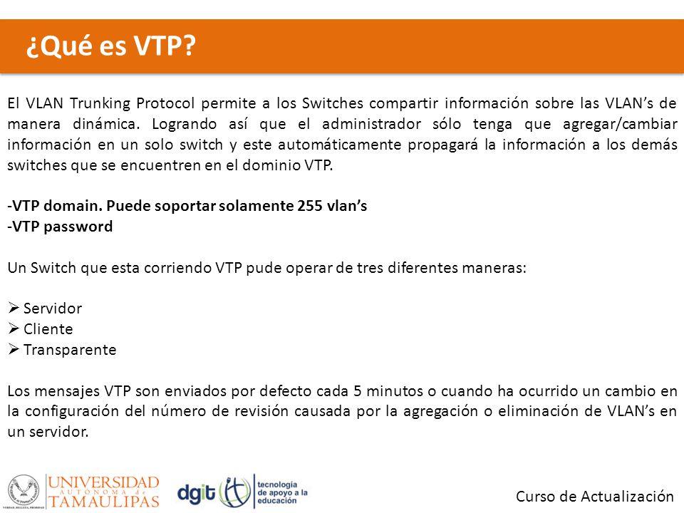 ¿Qué es VTP