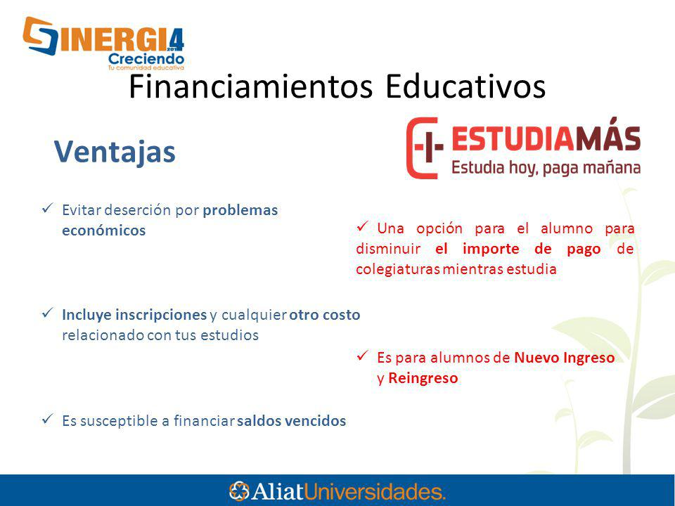 Financiamientos Educativos