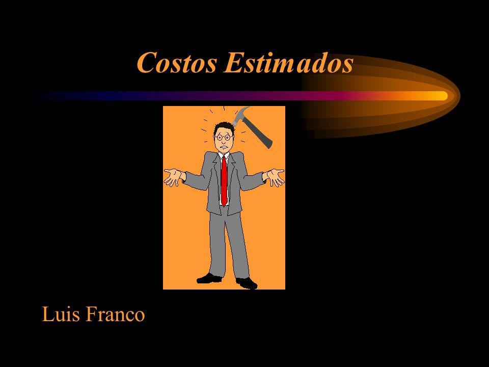 Costos Estimados Luis Franco