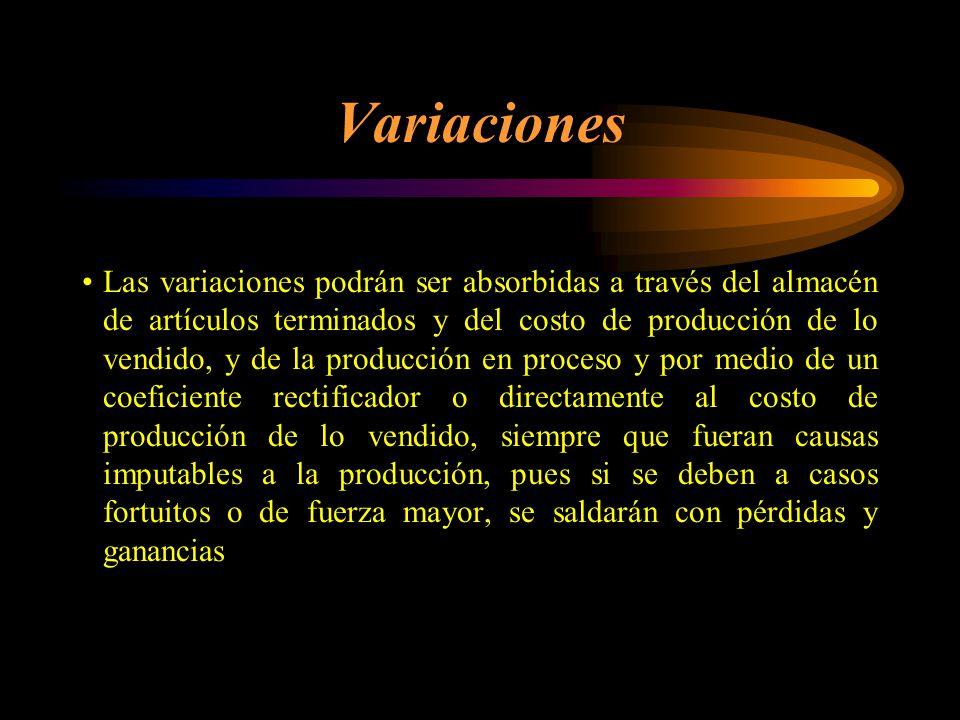 Variaciones