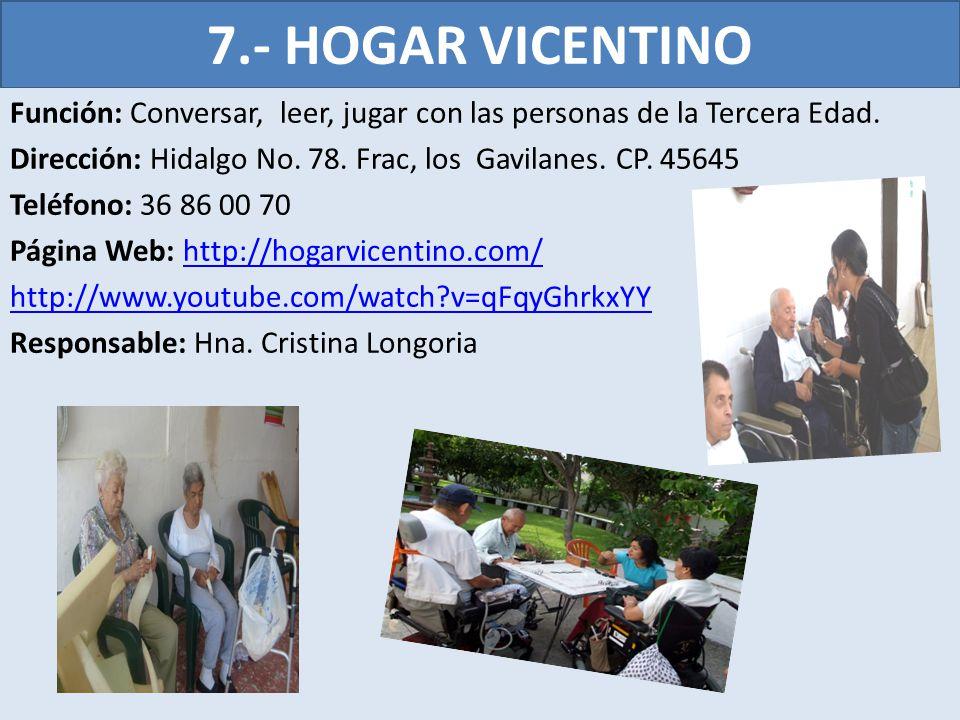 7.- HOGAR VICENTINO