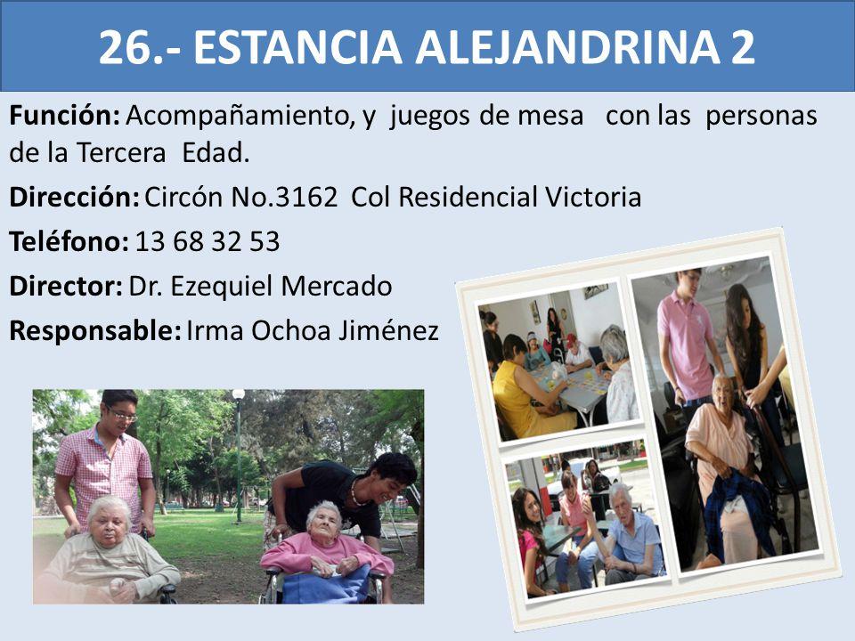 26.- ESTANCIA ALEJANDRINA 2