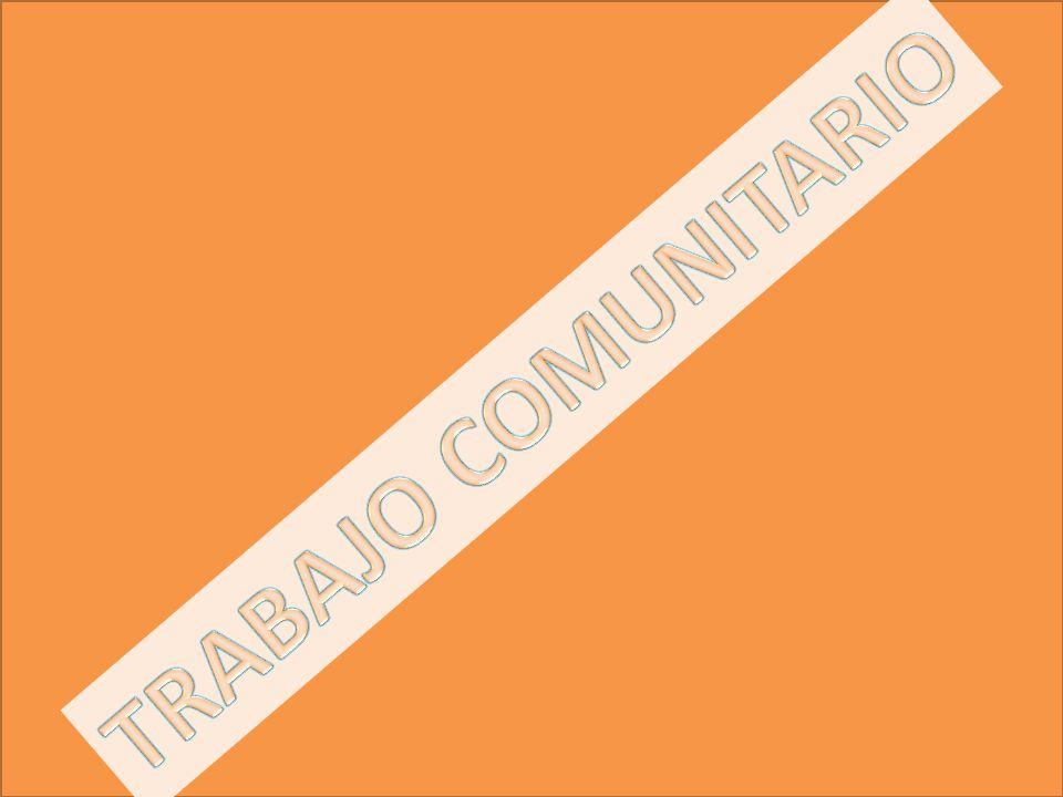 TRABAJO COMUNITARIO