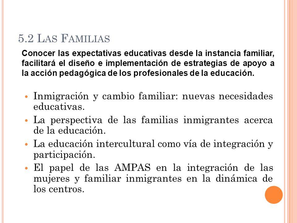 5.2 Las Familias