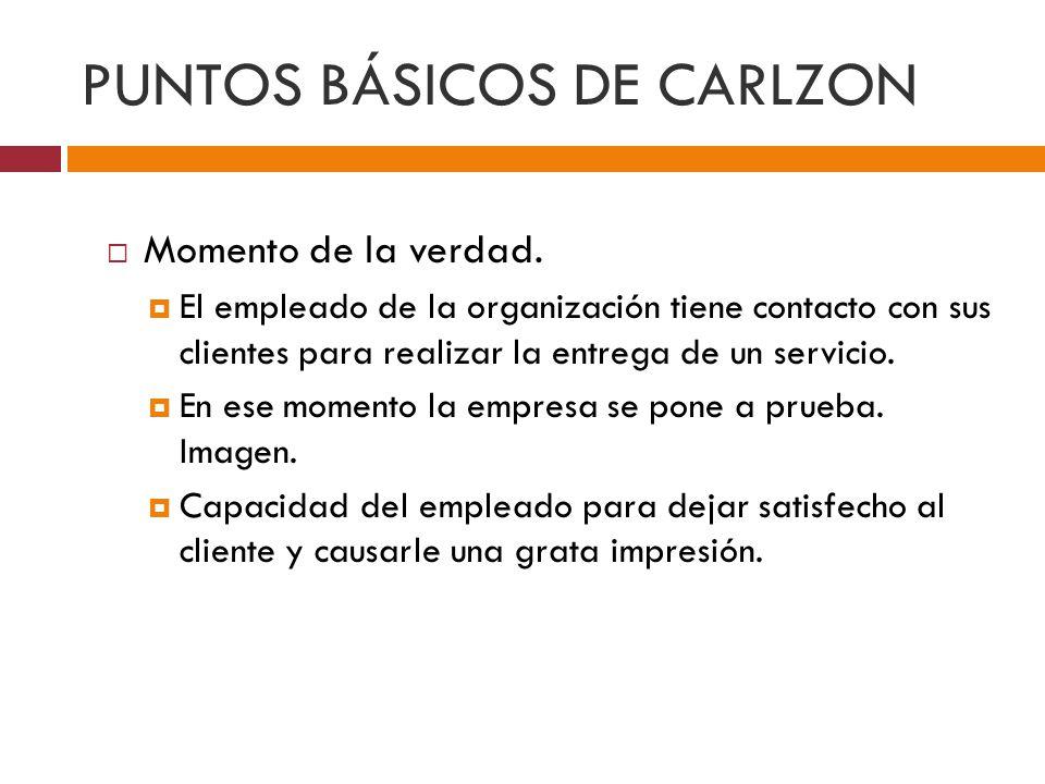 PUNTOS BÁSICOS DE CARLZON