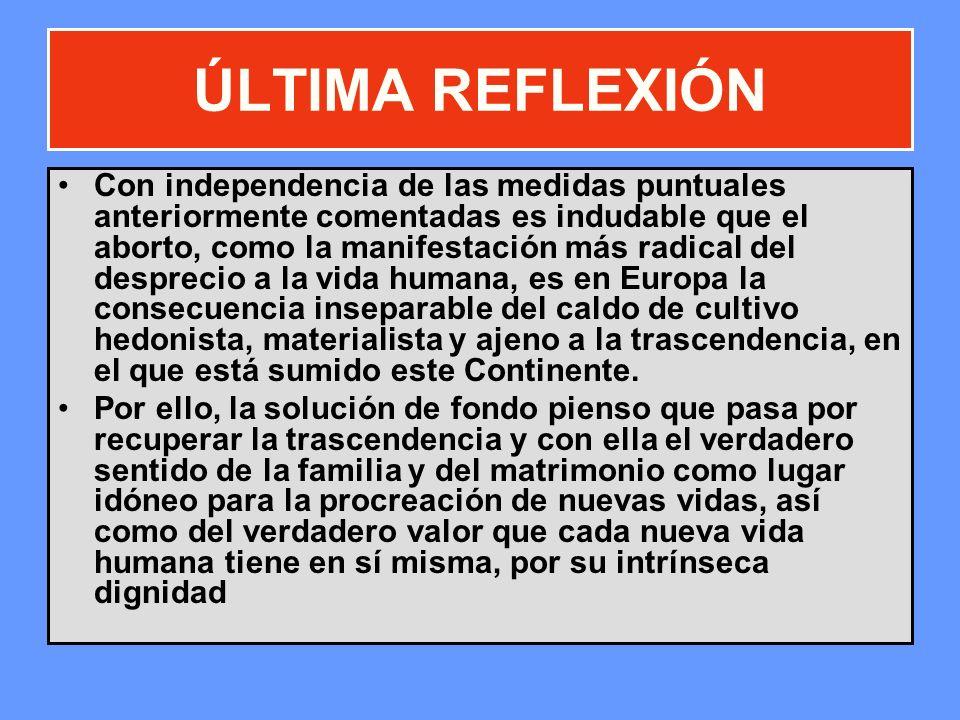 ÚLTIMA REFLEXIÓN