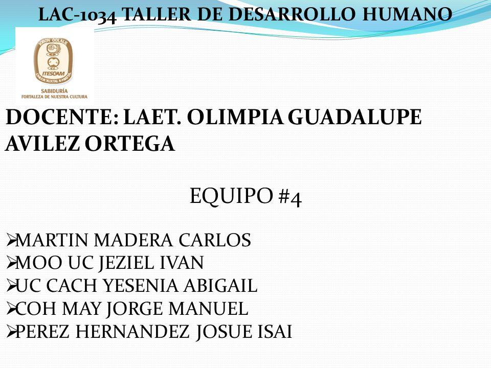 LAC-1034 TALLER DE DESARROLLO HUMANO