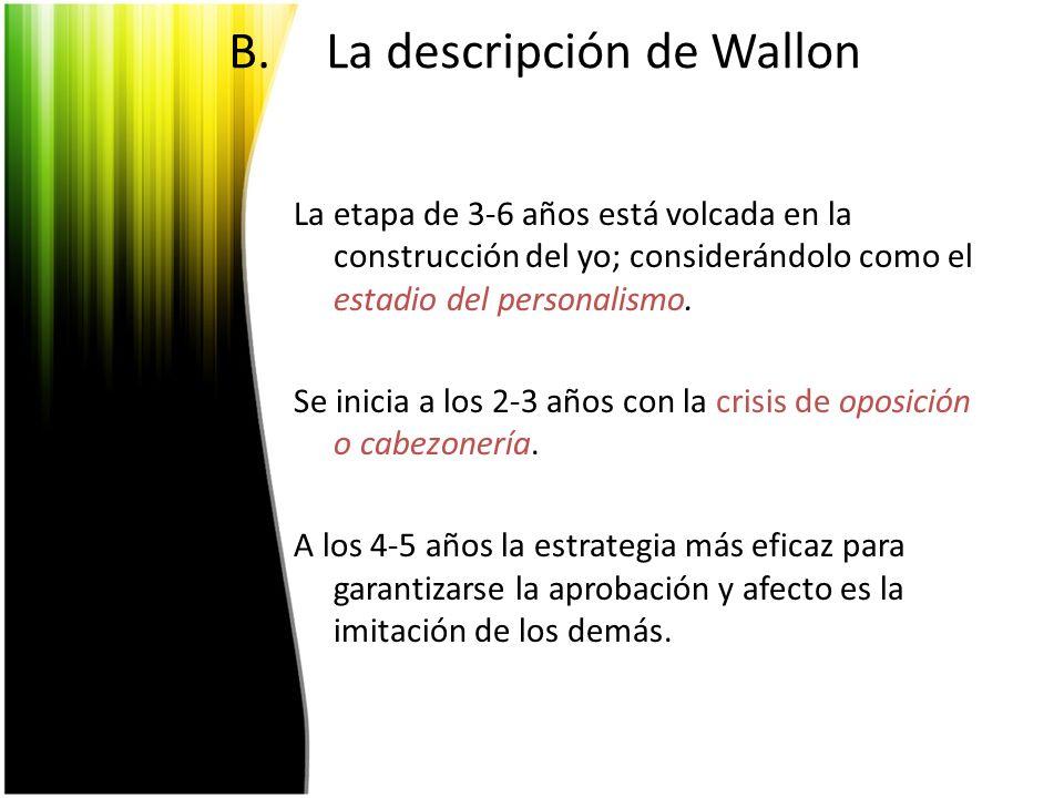 La descripción de Wallon