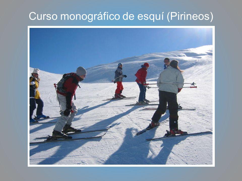 Curso monográfico de esquí (Pirineos)
