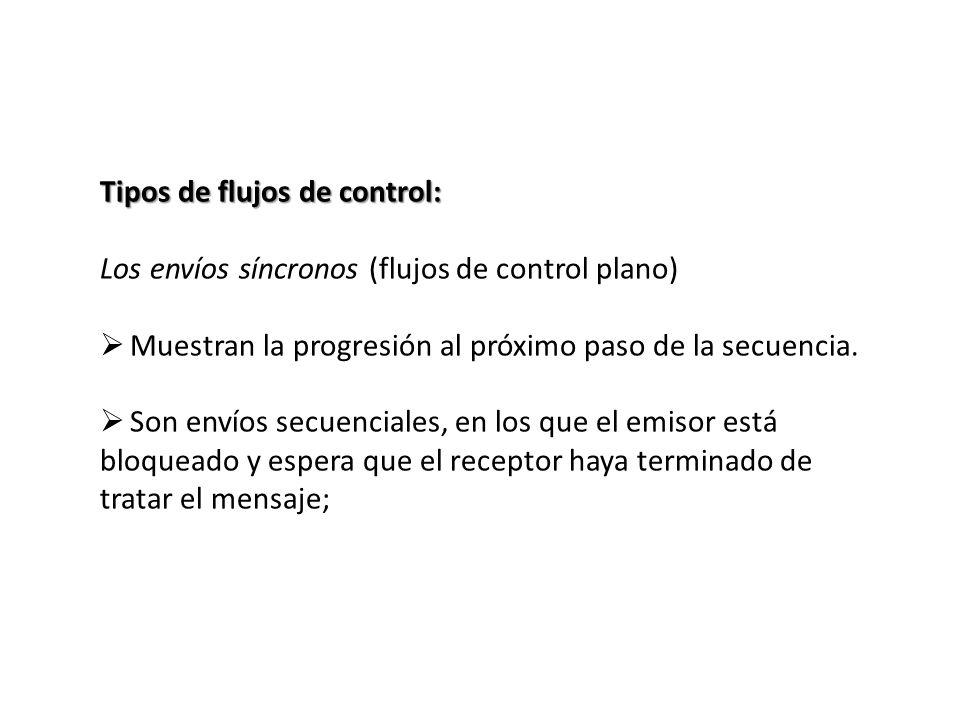 Tipos de flujos de control: