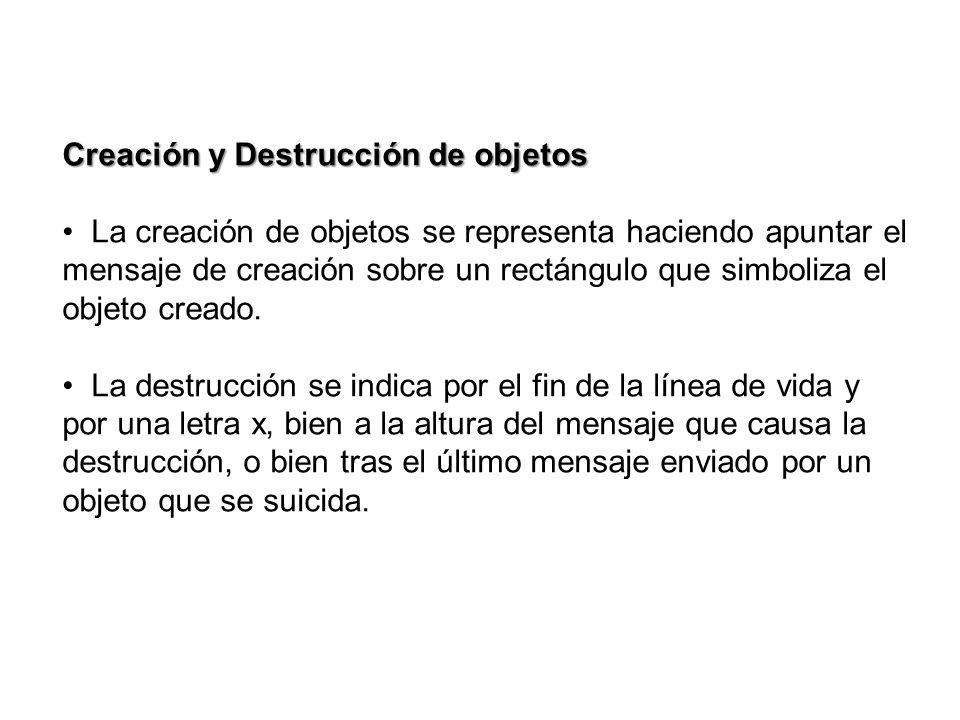 Creación y Destrucción de objetos