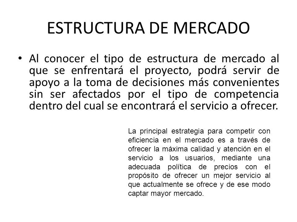 ESTRUCTURA DE MERCADO