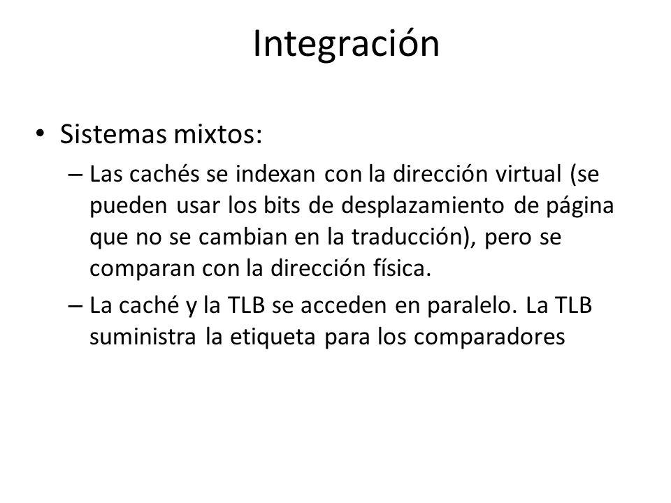 Integración Sistemas mixtos: