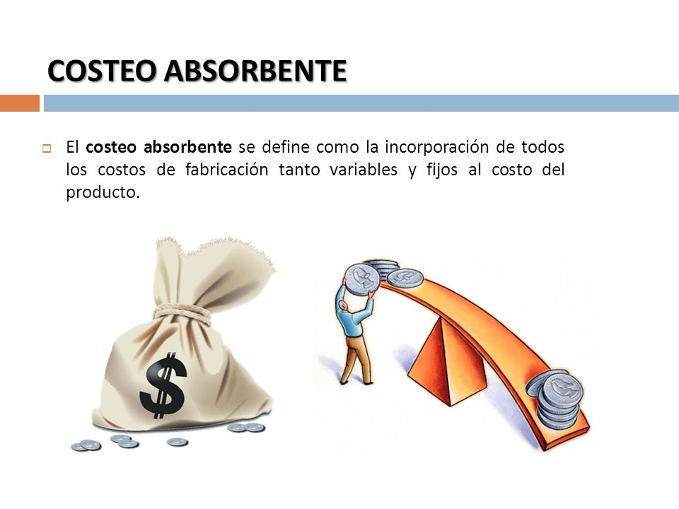 COSTEO ABSORBENTE