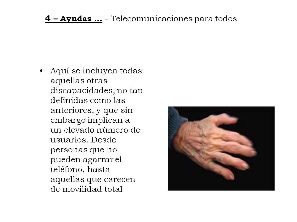 4 – Ayudas … - Telecomunicaciones para todos