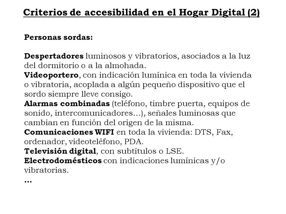 Criterios de accesibilidad en el Hogar Digital (2)