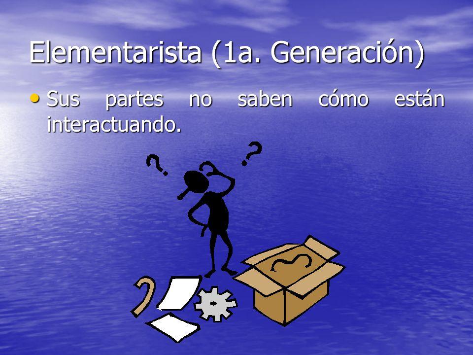 Elementarista (1a. Generación)