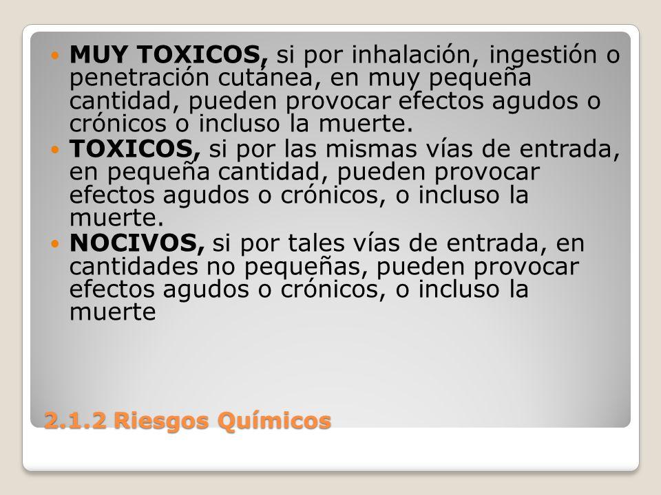 MUY TOXICOS, si por inhalación, ingestión o penetración cutánea, en muy pequeña cantidad, pueden provocar efectos agudos o crónicos o incluso la muerte.