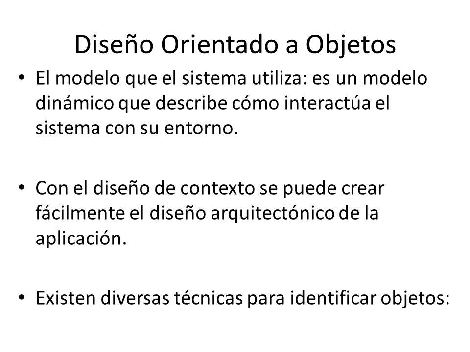 Diseño Orientado a Objetos